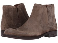 John Varvatos Waverly Chelsea Antique Brown Pull On Boots