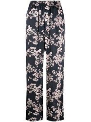 Paco Rabanne Floral Print Straight Trousers 60