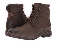 Rockport Urban Retreat Inside Zip Boot Bruin Men's Work Zip Boots Tan