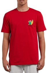 Volcom Primo Chance T Shirt Red