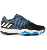Adidas Adipower 4 Leather And Rubber Golf Shoes Blue