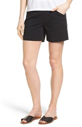 Jag Jeans Women's Ainsley Pull On Stretch Twill Shorts Black