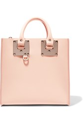 Sophie Hulme Albion Square Leather Tote Baby Pink