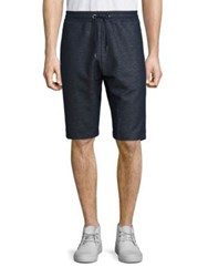 Strellson Solid Sweat Shorts Navy