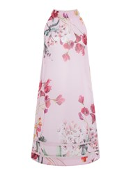 Ted Baker Serenity Printed Scallop Cover Up Pink