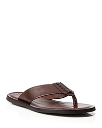 To Boot New York Cabo Thong Sandals Brown