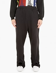 Gosha Rubchinskiy Black Double Cuff Sweatpants
