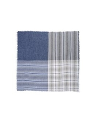 Fendi Square Scarves Blue