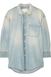 R 13 Oversized Chambray Shirt