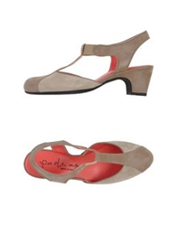 Pas De Rouge Sandals Beige