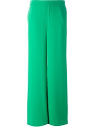 P.A.R.O.S.H. Wide Leg Trousers Green