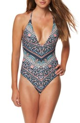 O'neill Women's Porter One Piece Swimsuit Multi Color