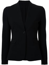 Estnation Fitted Blazer Women Polyester 36 Black