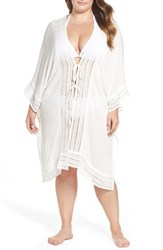 Muche Et Muchette Plus Size Women's Serendipity Cover Up Tunic White