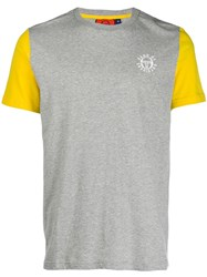 Band Of Outsiders Colour Block T Shirt Grey
