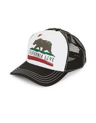 Dorfman Pacific California Love Trucker Hat Black