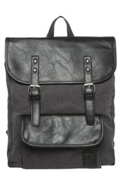 Your Turn Rucksack Washed Black Black
