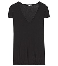 James Perse High Gauge Cotton T Shirt Black