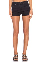 Marc By Marc Jacobs High Waisted Short Black