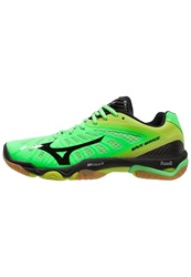 Mizuno Wave Mirage Handball Shoes Neon Green Black Lime Punch