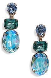 Sorrelli Forget Me Not Earrings Blue