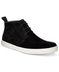 Alfani Men's Kenny Plain Toe Chukka Boots Only At Macy's Men's Shoes Black