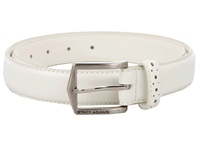 Stacy Adams 087 White Men's Belts