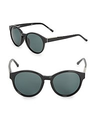 3.1 Phillip Lim 50Mm Round Pantos Sunglasses Black