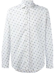 Etro 'Crowns' Print Shirt White