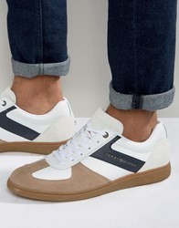 Tommy Hilfiger Danny Suede Trainers White