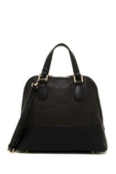 Urban Expressions Marisol Perforated Dome Satchel Black