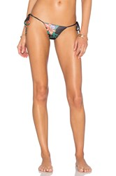 Indah Collins Side Tie Bikini Bottom Black