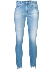 Ag Jeans Faded Effect Blue