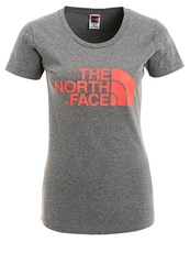 The North Face Easy Print Tshirt Mottled Grey