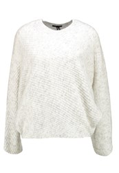 New Look Batwing Jumper Light Grey