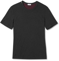 Dolce And Gabbana Stretch Cotton T Shirt Gray