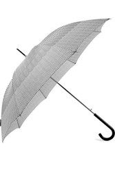 Missoni Cecilia Striped Shell Umbrella Black
