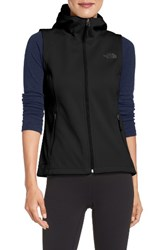 The North Face Women's Canyonwall Hardface Fleece Vest Tnf Black
