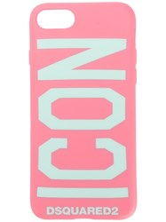 Dsquared2 Icon Iphone 6 7 Case Pink And Purple