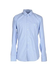Bikkembergs Shirts Shirts Men Sky Blue