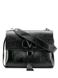 Valentino Garavani Vring Shoulder Bag Black