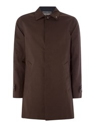 Peter Werth Twyford Cotton Raincoat Coffee