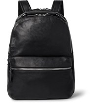 Shinola The Runwell Full Grain Leather Backpack Black