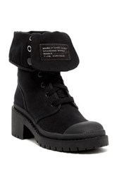 Marc By Marc Jacobs Fold Down Platform Boot Black