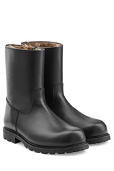 Ludwig Reiter Lined Leather Boots Black
