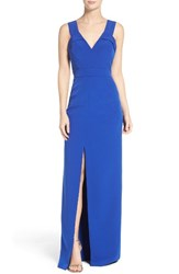 Aidan Mattox Women's Column Gown