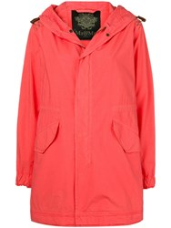 Mr And Mrs Italy Hooded Parka Coat Pink