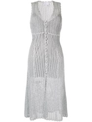 Alice Mccall Magic Midi Dress Silver