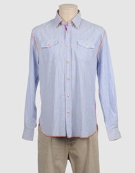 Arnold Zimberg Shirts Long Sleeve Shirts Men Sky Blue
