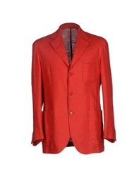 Flying Cross Suits And Jackets Blazers Men Red